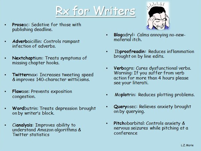 Rx for Writers
