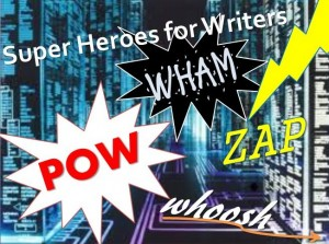 superheroes for writers