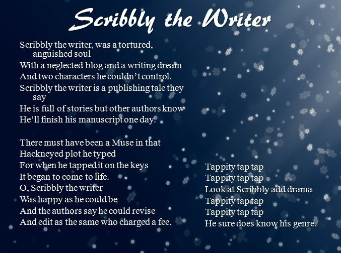 scribbly the writer