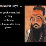 wise saying for writers